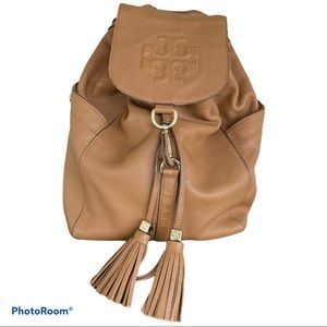 TORY BURCH Thea large leather backpack